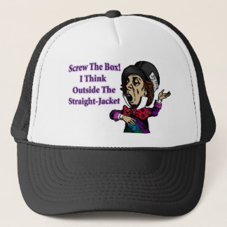 Mad Hatter Funny Motivational Quote Trucker Hat