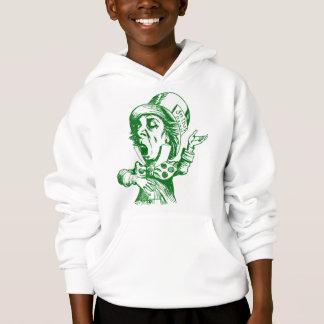 Mad Hatter Inked Green Hoodie