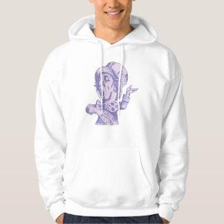 Mad Hatter Inked Lavender Hoody