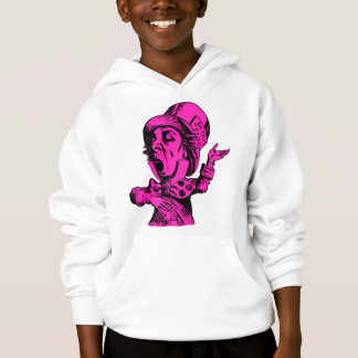Mad Hatter Inked Pink Fill Hoodie