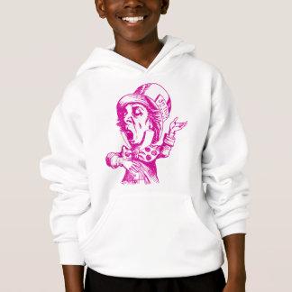 Mad Hatter Inked Pink Hoodie