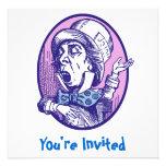 Mad Hatter Invitation