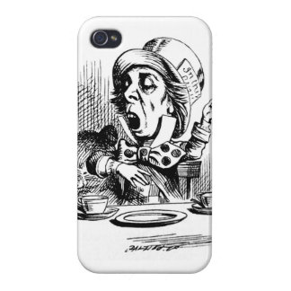 Mad Hatter iPhone 4 and 4S Case Cover For iPhone 4