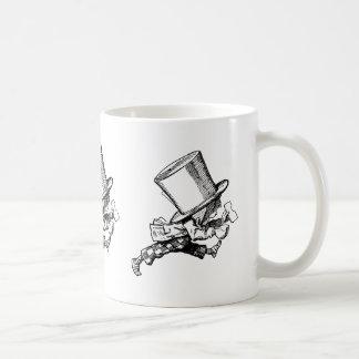Mad Hatter just as hastily leaves Coffee Mug