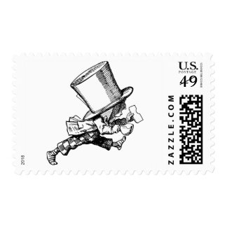 Mad Hatter just as hastily leaves Stamp