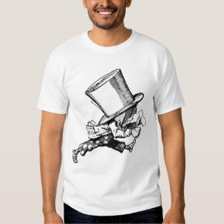 Mad Hatter just as hastily leaves Tshirt