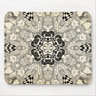 Mad Hatter Kaleidoscope 2 Mouse Pad