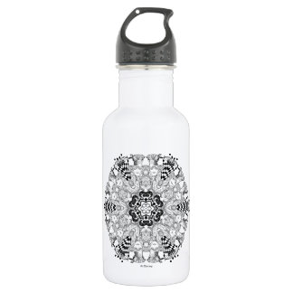 Mad Hatter Kaleidoscope Stainless Steel Water Bottle