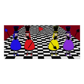 Mad Hatter Ladies-in-Waiting Print