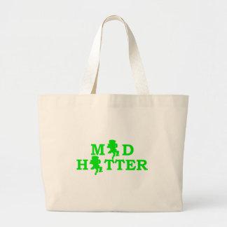 Mad Hatter Large Tote Bag