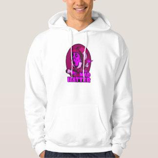 Mad Hatter Logo Pink Hooded Sweatshirt