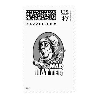 Mad Hatter Logo Postage Stamp
