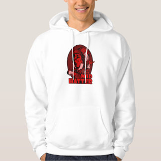 Mad Hatter Logo Red Hoody