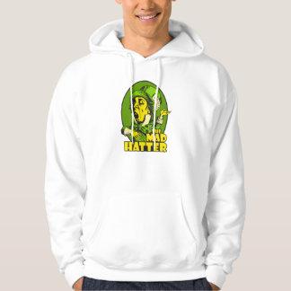 Mad Hatter Logo Yellow Green Hoodie