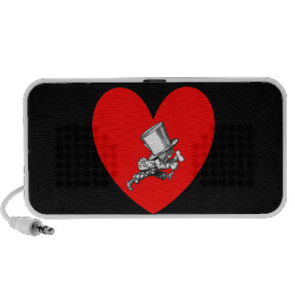 Mad Hatter Love Laptop Speaker