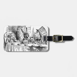 Mad Hatter Tags For Bags