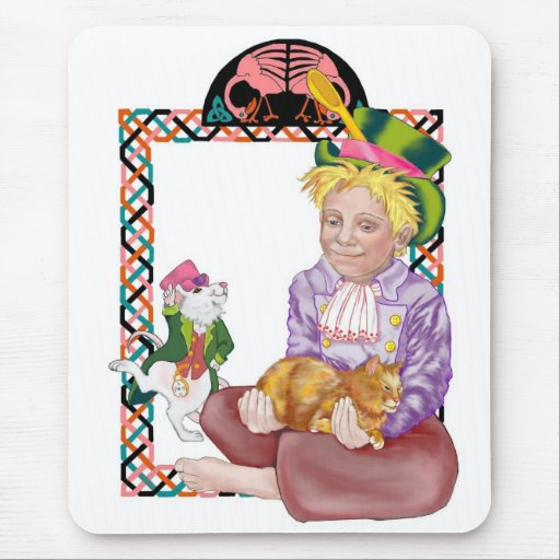 Mad Hatter Mouse Pad