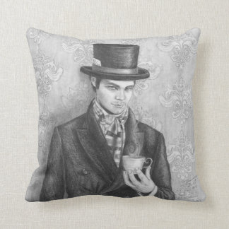 Mad Hatter Pillow Alice in Wonderland Pillow