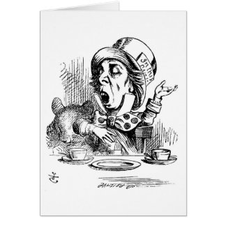 Mad Hatter Pontificating Cards