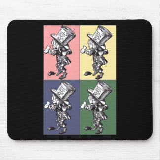 Mad Hatter Pop Art V2 Mouse Pad