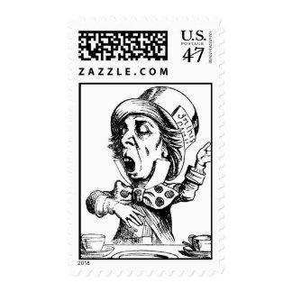 Mad Hatter Postage
