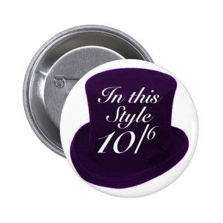 Mad Hatter - Purple Pins