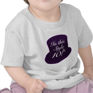 Mad Hatter - Purple Tee Shirts