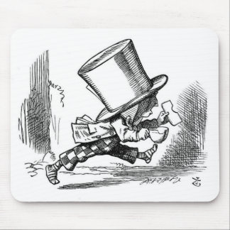 Mad Hatter Running Mouse Pad