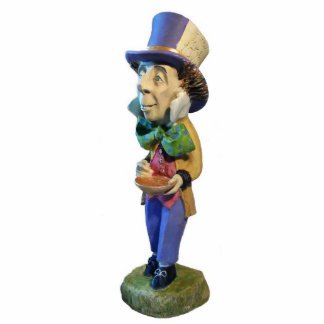Mad Hatter Sculpture Photo Cutouts