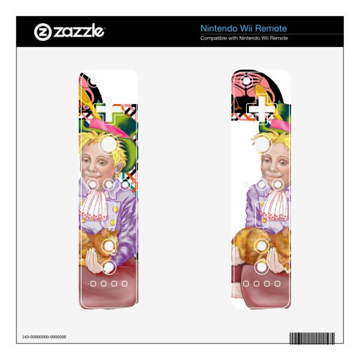 Mad Hatter Skin For Wii Remote