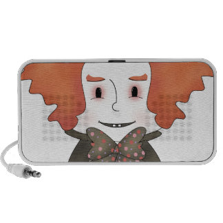 Mad Hatter Mp3 Speakers