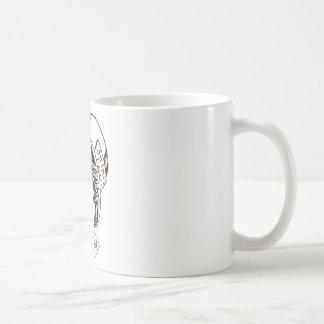 Mad Hatter Speech in Sepia Coffee Mug