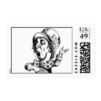 Mad Hatter Stamp