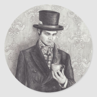 Mad Hatter Sticker Alice in Wonderland Sticker