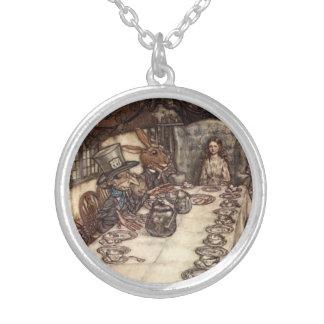 Mad Hatter Tea Party Arthur Rackham Necklace