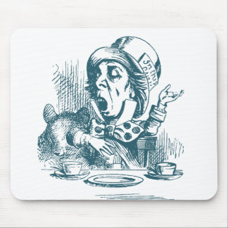 Mad Hatter Tea Party Mouse Pad