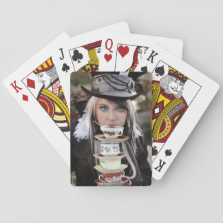 Mad Hatter Tea Party Playing Cards