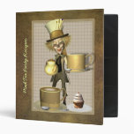 Mad Hatter Tea Party Recipe Binder 1""