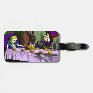 Mad Hatter Tea Party with Alice Bag Tag