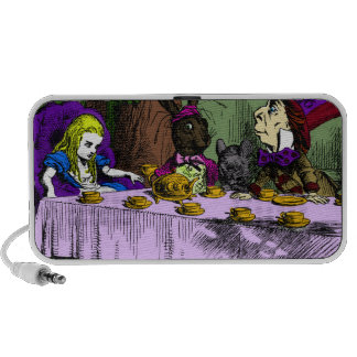 Mad Hatter Tea Party with Alice iPhone Speakers