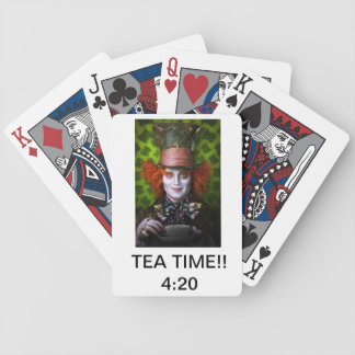 Mad Hatter tea time!! 4:20 cards