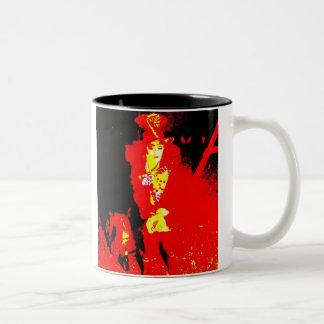 Mad Hatter Two-Tone Coffee Mug