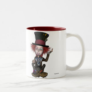 Mad Hatter Two-Tone Coffee Mug