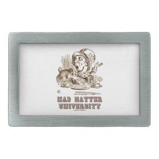 Mad Hatter University (Wonderland Mad Hatter) Belt Buckle