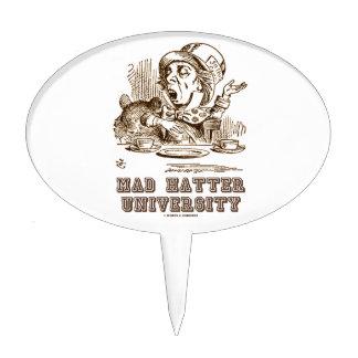 Mad Hatter University (Wonderland Mad Hatter) Cake Topper