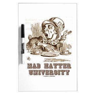 Mad Hatter University (Wonderland Mad Hatter) Dry-Erase Board