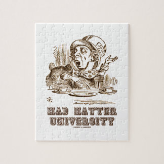 Mad Hatter University (Wonderland Mad Hatter) Jigsaw Puzzle