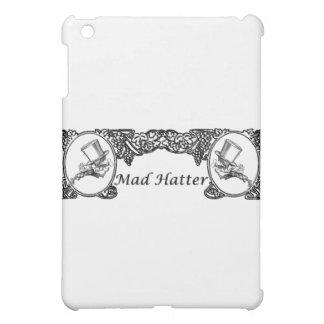 Mad Hatter Vintage Frame iPad Mini Cover