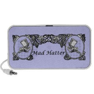 Mad Hatter Vintage Frame Mp3 Speakers