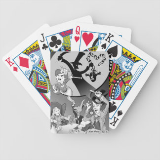 Mad Hatter 'Why it's always tea time' Bicycle Playing Cards